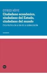 E-book Ciudadano económico, ciudadano del Estado, ciudadano del mundo