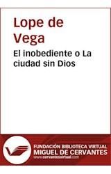 E-book El inobediente o La ciudad sin Dios