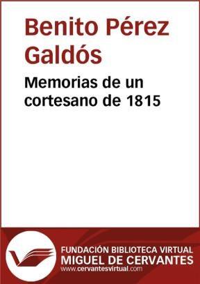 E-book Memorias De Un Cortesano De 1815