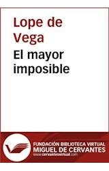 E-book El mayor imposible