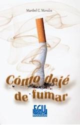 E-book Cómo dejé de fumar