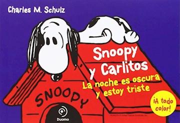 Papel Snoopy Y Carlitos - La Noche Es Oscura Y Estoy Triste
