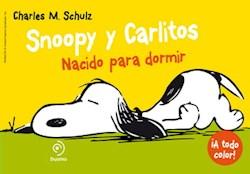 Papel Snoopy Y Carlitos Nacido Para Dormir