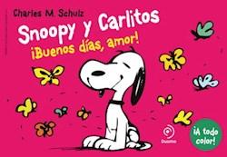 Papel Snoopy Y Carlitos Buenos Dias Amor