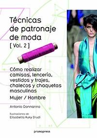 Libro Tecnicas De Patronaje De Moda Vol. 2