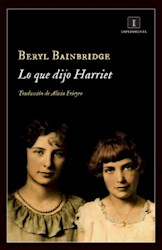 Papel Lo Que Dijo Harriet