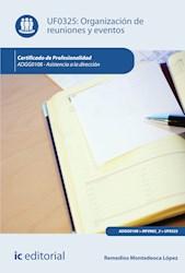 Libro Organizacion De Reuniones Y Eventos. Adgg0108 - A