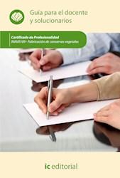 Libro Fabricacion De Conservas Vegetales. Inav0109 - Gu