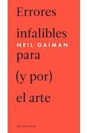 Papel ERRORES INFALIBLES PARA Y POR EL ARTE (2 EDICION) (INCLUYE E-BOOK) (CARTONE)