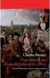 Papel VIAJE MUSICAL POR FRANCIA E ITALIA EN EL SIG