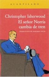 Papel EL SEÑOR NORRIS CAMBIA DE TREN