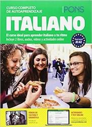 Papel Curso Completo De Autoaprendizaje Pons Italiano (A1-A2)