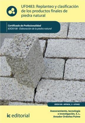 E-book Replanteo Y Clasificación De Los Productos Finales En Piedra Natural