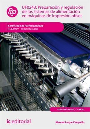 E-book Preparación Y Regulación De Los Sistemas De Alimentación En Máquinas De Impresión Offset
