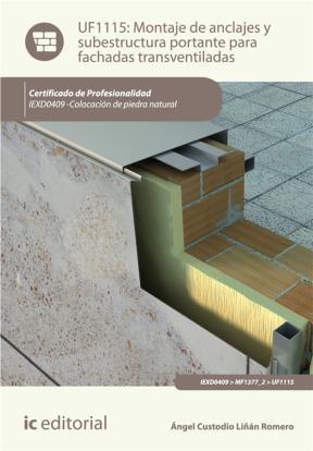 E-book Montaje De Anclajes Y Subestructura Portante Para Fachadas Transventiladas