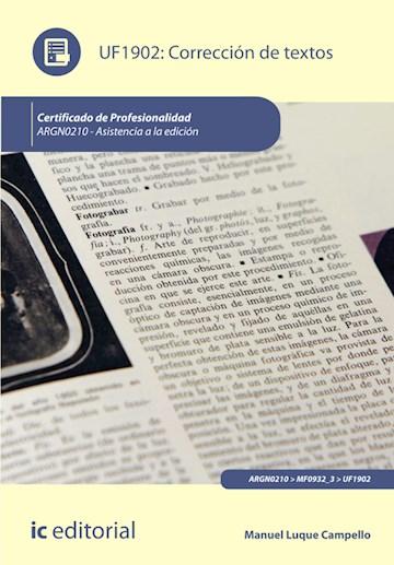 Papel Corrección De Textos. Argn0210 - Asistencia A La Edición