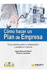 E-book Cómo hacer un plan de empresa