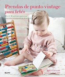 Papel Prendas De Punto Vintage Para Bebes