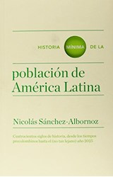 Papel HISTORIA MINIMA DE LA POBLACION DE AMERICA LATINA