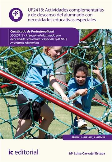 Papel Actividades Complementarias Y De Descanso Del Alumnado Con Necesidades Educativas Especiales. Ssce01