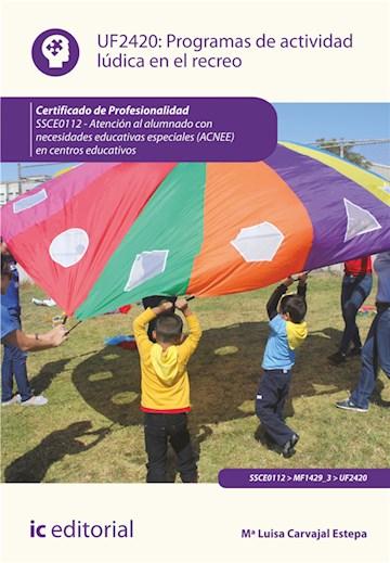 Papel Programas De Actividad Lúdica En El Recreo. Ssce0112 - Atención Al Alumnado Con Necesidades Educativ