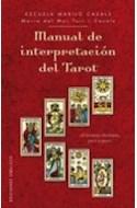 Papel MANUAL DE INTERPRETACION DEL TAROT 28 LECTURAS DISTINTAS PASO A PASO (CARTONE)