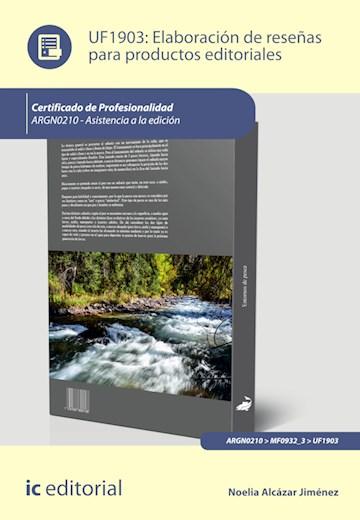 Papel Elaboración De Reseñas Para Productos Editoriales. Argn0210 - Asistencia A La Edición