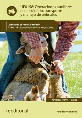 E-book Operaciones Auxiliares En El Cuidado, Transporte Y Manejo De Animales