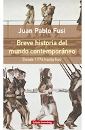 Papel BREVE HISTORIA DEL MUNDO CONTEMPORANEO DESDE 1776 HASTA HOY