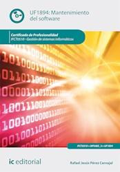 Libro Mantenimiento Del Software. Ifct0510 - Gestion De