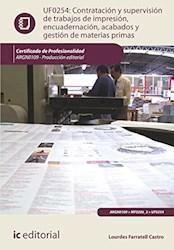 Libro Contratacion Y Supervision De Trabajos De Impres