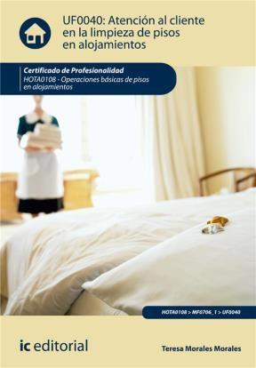 E-book Atención Al Cliente En La Limpieza De Pisos En Alojamientos