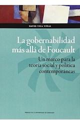 Papel LA GOBERNABILIDAD MAS ALLA DE FOUCAULT
