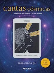 Libro Cartas Cosmicas  ( Libro + 36 Cartas )