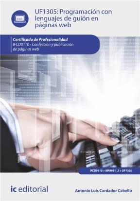 E-book Programación Con Lenguajes De Guión En Páginas Web