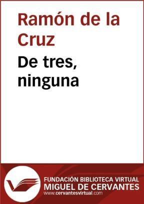 E-book De Tres, Ninguna