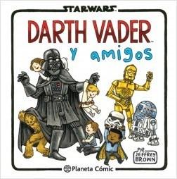Papel Star Wars Darth Vader Y Amigos
