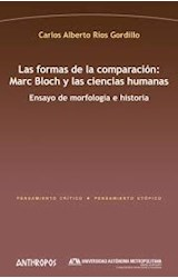 Papel FORMAS DE LA COMPARACION: MARC BLOCH Y LAS CIENCIAS HUMANAS
