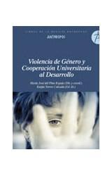 Papel VIOLENCIA DE GENERO Y COOPERACION UNIVERSITARIA AL DESARROLL
