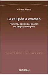 Papel LA RELIGION A EXAMEN