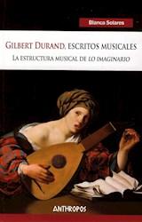 Papel GILBERT DURAND, ESCRITOS MUSICALES