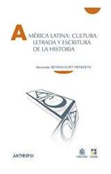 Papel América Latina: Cultura Letrada Y Escritura