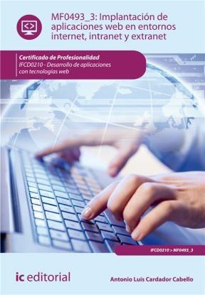 E-book Implantación De Aplicaciones Web En Entornos Internet, Intranet Y Extranet