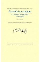 Papel ESCRIBIRE EN EL PIANO 101 POEMAS PORTUGUESES