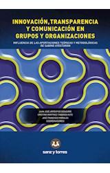 E-book Innovación, transparencia y comunicación en grupos y organizaciones