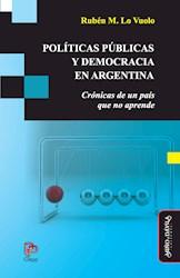 Libro Politicas Publicas Y Democracia En Argentina