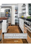 Papel KITCHEN & MATERIALS WOOD LAMINATE STEEL (CARTONE)