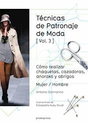 Libro Tecnicas De Patronaje De Moda Vol. 3
