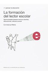 Papel LA FORMACION DEL LECTOR ESCOLAR
