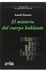 Papel MISTERIO DEL CUERPO HABLANTE. EL